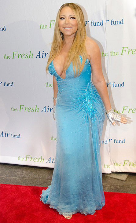 <div class='meta'><div class='origin-logo' data-origin='none'></div><span class='caption-text' data-credit='AP'>Mariah Carey arrives at The Fresh Air Fund Spring Gala Benefit at Pier Sixty at Chelsea Piers on Thursday, May 29, 2014 in New York.</span></div>