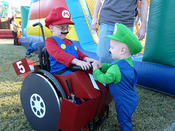 "<div class=""meta image-caption""><div class=""origin-logo origin-image ""><span></span></div><span class=""caption-text"">Caleb, 5, and his brother Benjamin, 2, as Mario and Luigi. (Cassie McLelland)</span></div>"