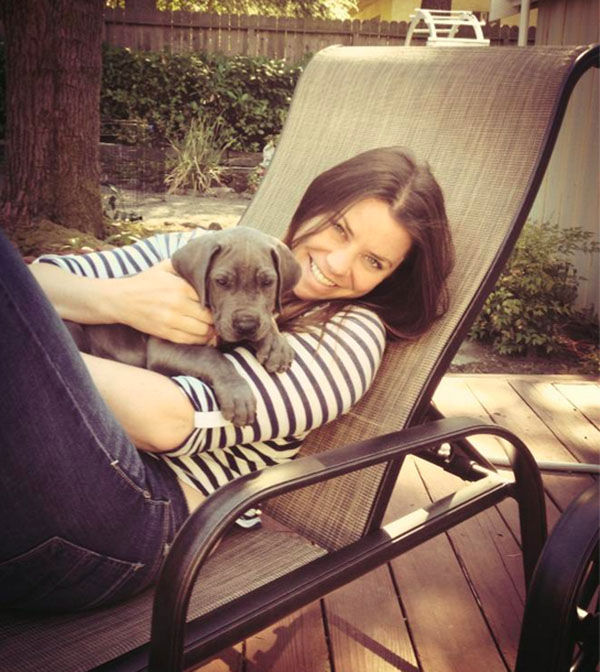 <div class='meta'><div class='origin-logo' data-origin='none'></div><span class='caption-text' data-credit='Brittany Maynard'>Brittany Maynard with her dog, Charlie.</span></div>