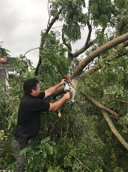<div class='meta'><div class='origin-logo' data-origin='none'></div><span class='caption-text' data-credit='Martin County Sheriff's Office/Facebook'>Martin County Sheriff's Office in Florida shared this photo of efforts to remove debris on Friday morning.</span></div>