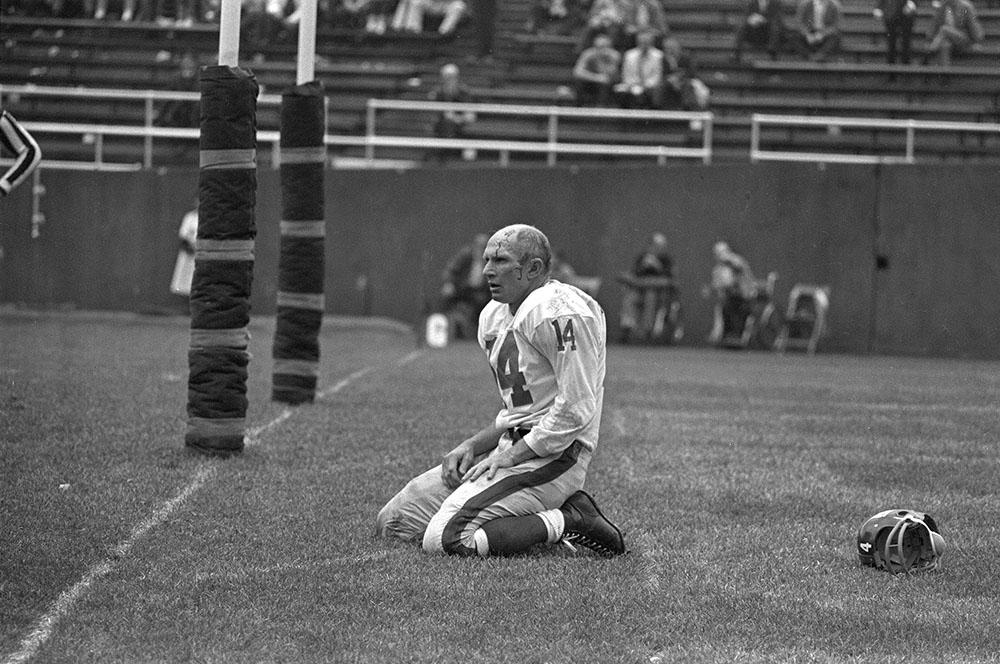 <div class='meta'><div class='origin-logo' data-origin='none'></div><span class='caption-text' data-credit='Dozier Mobley/AP'>Hall of Fame quarterback Y.A. Tittle has died at the age of 90. Tittle was the NFL MVP in 1963.</span></div>