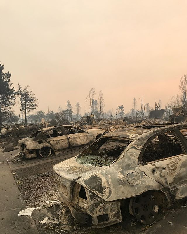 <div class='meta'><div class='origin-logo' data-origin='none'></div><span class='caption-text' data-credit='cody_hayess/Instagram'>''My hood... I honestly can not explain the devastation not only to the environment but to me as well as I walked through here,'' wrote a Santa Rosa resident on Instagram.</span></div>