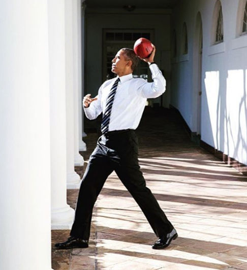 "<div class=""meta image-caption""><div class=""origin-logo origin-image none""><span>none</span></div><span class=""caption-text"">The president getting ready to toss a football in 2016. (Pete Souza, Chief Official White House Photographer)</span></div>"