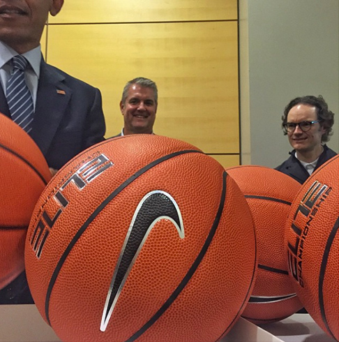 <div class='meta'><div class='origin-logo' data-origin='none'></div><span class='caption-text' data-credit='Pete Souza, Chief Official White House Photographer'>A portion of President Obama's face is visible in this corner of this image as he signs basketballs in 2015.</span></div>