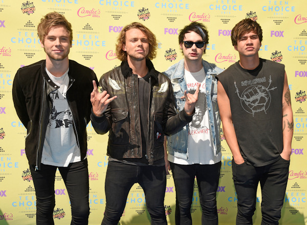 <div class='meta'><div class='origin-logo' data-origin='none'></div><span class='caption-text' data-credit='Photo by Chris Pizzello/Invision/AP'>5 Seconds of Summer, who released their album ''Sounds Good Feels Good'' on Oct. 23, will be performing on the AMAs.</span></div>
