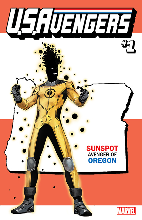 <div class='meta'><div class='origin-logo' data-origin='none'></div><span class='caption-text' data-credit='Marvel'>For the launch of this all-new series, U.S. Avengers #1 will feature over 50 unique variants assigning one Avenger to each state.</span></div>