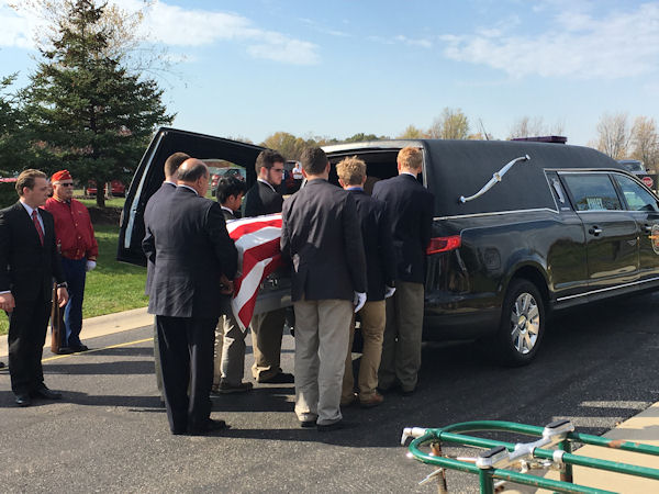 "<div class=""meta image-caption""><div class=""origin-logo origin-image none""><span>none</span></div><span class=""caption-text"">The idea to serve as pallbearers at the funerals of homeless veterans came from the students themselves, the school said. (University of Detroit Jesuit High School)</span></div>"