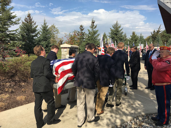 "<div class=""meta image-caption""><div class=""origin-logo origin-image none""><span>none</span></div><span class=""caption-text"">None of the students knew the veterans they served as pallbearers for. (University of Detroit Jesuit High School)</span></div>"