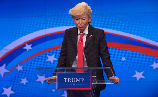 """<div class=""""meta image-caption""""><div class=""""origin-logo origin-image none""""><span>none</span></div><span class=""""caption-text"""">Kelly Ripa dresses as presidential candidate Donald Trump  for the ''LIVE with Kelly and Michael'' Halloween special. (Pawel Kaminski, Disney/ABC Home Entertainment and TV Distribution )</span></div>"""