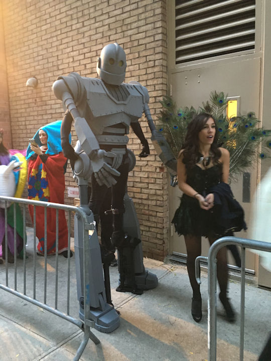 """<div class=""""meta image-caption""""><div class=""""origin-logo origin-image none""""><span>none</span></div><span class=""""caption-text"""">An audience members dresses as the Iron Giant for the ''LIVE with Kelly and Michael'' Halloween costume contest. (Bob Monek. Eyewitness News)</span></div>"""