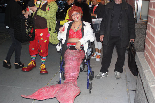 """<div class=""""meta image-caption""""><div class=""""origin-logo origin-image none""""><span>none</span></div><span class=""""caption-text"""">An audience member dresses as a mermaid for the ''LIVE with Kelly and Michael'' costume contest. (Bob Monek. Eyewitness News)</span></div>"""