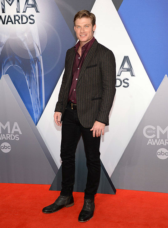 <div class='meta'><div class='origin-logo' data-origin='none'></div><span class='caption-text' data-credit='Evan Agostini/Invision/AP'>Chris Carmack arrives at the 49th annual CMA Awards at the Bridgestone Arena on Wednesday, Nov. 4, 2015, in Nashville, Tenn.</span></div>
