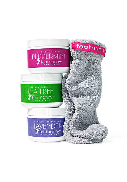 """<div class=""""meta image-caption""""><div class=""""origin-logo origin-image """"><span></span></div><span class=""""caption-text"""">Foot Cream and Sock Gift Set, $144 at FootNanny.com.  ''Slather it on and wear socks so the satiny concoction can soften your skin overnight.'' -Oprah (Photo/Gregor Halenda, Oprah.com)</span></div>"""