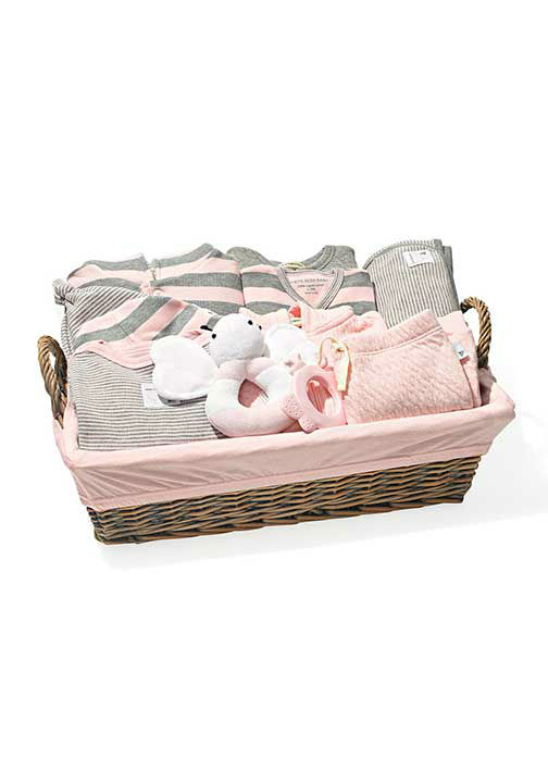 """<div class=""""meta image-caption""""><div class=""""origin-logo origin-image """"><span></span></div><span class=""""caption-text"""">Ultimate Welcome Home baby Basket, $125 at BurtsBeesBaby.com.  ''Jimmy Kimmel, cover your ears...I'm getting one for guess whose new daughter."""" -Oprah (Photo/Gregor Halenda)</span></div>"""
