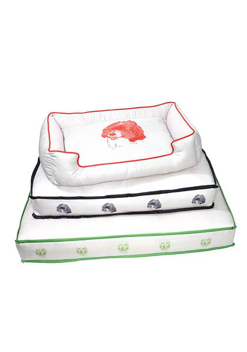 """<div class=""""meta image-caption""""><div class=""""origin-logo origin-image """"><span></span></div><span class=""""caption-text"""">Cushy dog beds, $445 to $710 at CharlesFradinHome.com.  ''These cushy dog beds, made with hypoallergenic fiberfill, have washable covers printed with custom portraits.'' -Oprah (Photo/Gregor Halenda)</span></div>"""