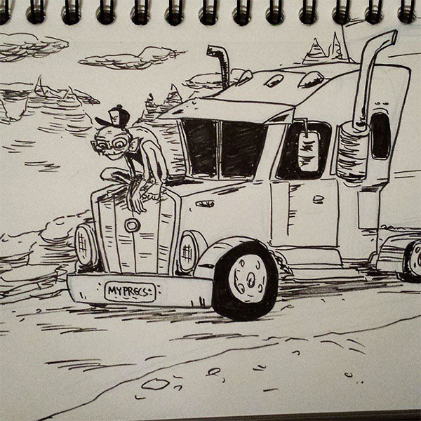 """<div class=""""meta image-caption""""><div class=""""origin-logo origin-image """"><span></span></div><span class=""""caption-text"""">Lord of the Rigs -- """"The story of one man's unhealthy obsession with his truck."""" (Austin Light/austindlight.com)</span></div>"""