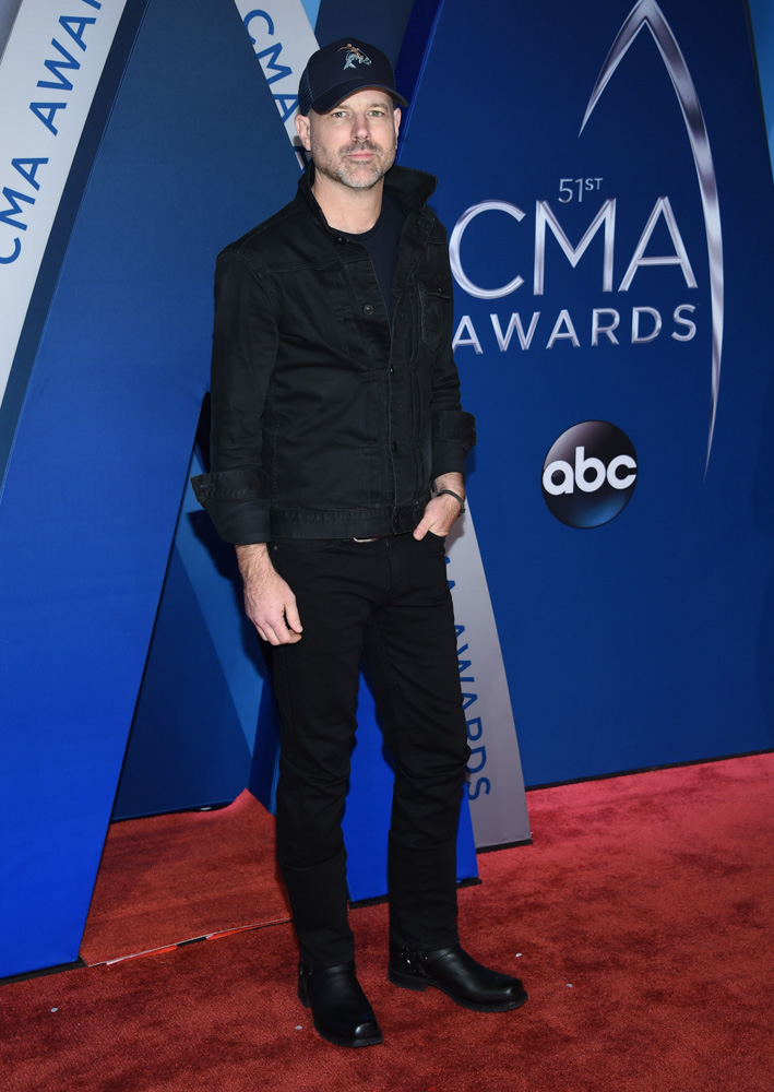"<div class=""meta image-caption""><div class=""origin-logo origin-image none""><span>none</span></div><span class=""caption-text"">Jon Randall arrives at the 51st annual CMA Awards on Wednesday, Nov. 8, 2017, in Nashville, Tenn. (Evan Agostini/Invision/AP)</span></div>"