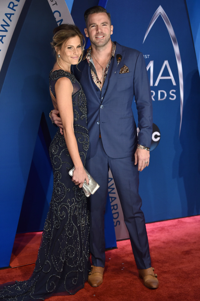 "<div class=""meta image-caption""><div class=""origin-logo origin-image none""><span>none</span></div><span class=""caption-text"">TK McKamy, right, and Marielle Jaffe arrivesat the 51st annual CMA Awards on Wednesday, Nov. 8, 2017, in Nashville, Tenn. (Evan Agostini/Invision/AP)</span></div>"