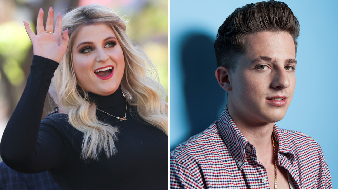 <div class='meta'><div class='origin-logo' data-origin='none'></div><span class='caption-text' data-credit='Rich Fury/Invision/AP| Rebecca Cabage/Invision/AP'>Meghan Trainor will perform two songs, one with Charlie Puth. Both will be performing on the AMAs for the first time.</span></div>