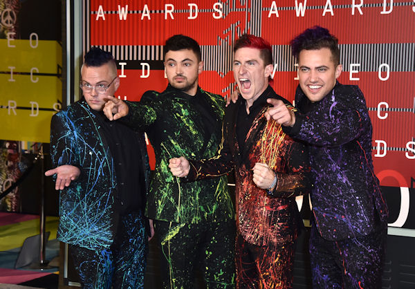 <div class='meta'><div class='origin-logo' data-origin='none'></div><span class='caption-text' data-credit='Jordan Strauss/Invision/AP'>First-time nominees Walk the Moon, best known for their hit ''Shut Up and Dance,'' will perform at the AMAs.</span></div>