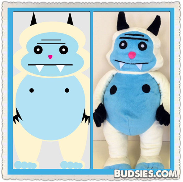 <div class='meta'><div class='origin-logo' data-origin='none'></div><span class='caption-text' data-credit='Budsies, LLC'>Budsies creates plush toys from children's drawings. Consumers submit their artwork and Budsies transforms them into custom, hand-crafted toys.</span></div>