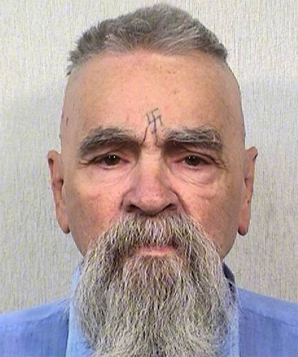 <div class='meta'><div class='origin-logo' data-origin='none'></div><span class='caption-text' data-credit='Photo/AP'>Oct. 8, 2014 - 80-year-old Charles Manson.</span></div>