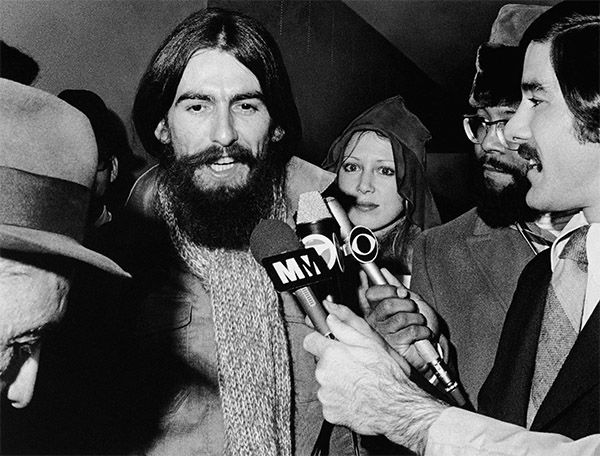 <div class='meta'><div class='origin-logo' data-origin='none'></div><span class='caption-text' data-credit='Photo/AP'>Beatle George Harrison, October 28, 1970. He was asked to comment on Manson's attorneys trying to subpoena John Lennon to testify on ideas allegedly contained in Beatle songs.</span></div>