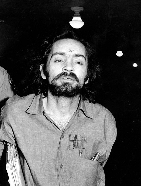 <div class='meta'><div class='origin-logo' data-origin='none'></div><span class='caption-text' data-credit='Photo/AP'>Unsuccessful in his attempts to obtain a mistrial, Manson heads for court in Los Angeles on Aug. 6, 1970 to listen to further cross-examination of state's witness, Linda Kasabian.</span></div>
