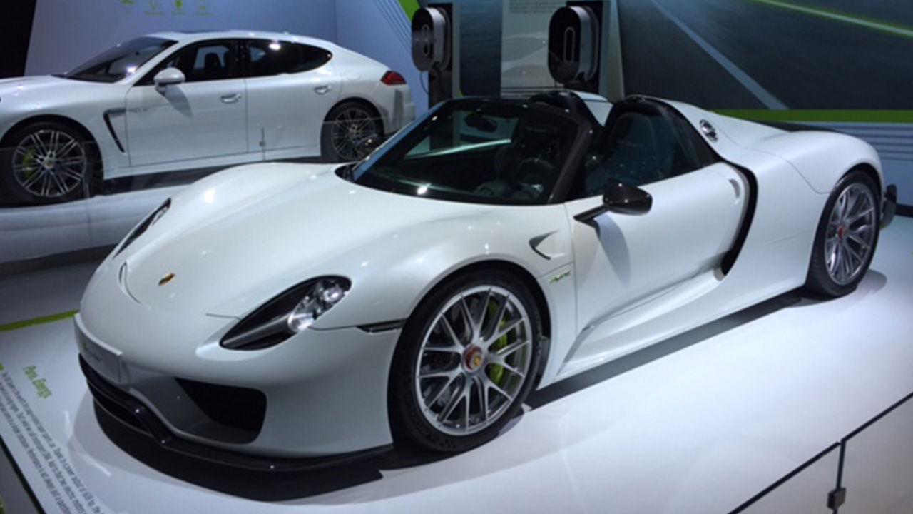 Fastest Cars At The 2014 La Auto Show In 60 Seconds