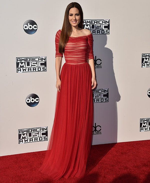 <div class='meta'><div class='origin-logo' data-origin='AP'></div><span class='caption-text' data-credit='Jordan Strauss/Invision/AP'>Kerri Kasem arrives at the American Music Awards at the Microsoft Theater on Sunday, Nov. 22, 2015, in Los Angeles.</span></div>