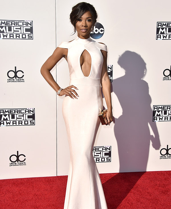 <div class='meta'><div class='origin-logo' data-origin='AP'></div><span class='caption-text' data-credit='Jordan Strauss/Invision/AP'>Zuri Hall arrives at the American Music Awards at the Microsoft Theater on Sunday, Nov. 22, 2015, in Los Angeles.</span></div>