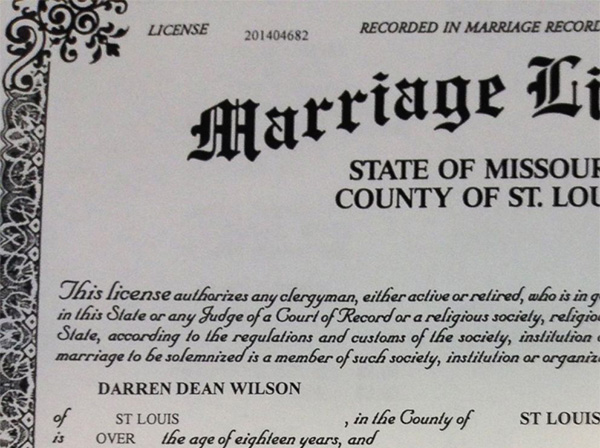 Marriage license sample application essay