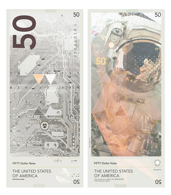 "<div class=""meta image-caption""><div class=""origin-logo origin-image ""><span></span></div><span class=""caption-text"">Artist redesigns U.S. dollar bills to represent advancements and culture within American society. (Travis Purrington/travispurrington.com)</span></div>"