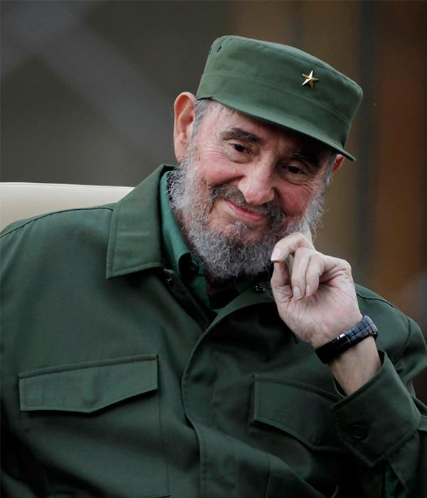 <div class='meta'><div class='origin-logo' data-origin='none'></div><span class='caption-text' data-credit='Javier Galeano/AP'>Fidel Castro, former head of the Cuban government, passed away on Friday, Nov. 25, 2016. He was 90.</span></div>