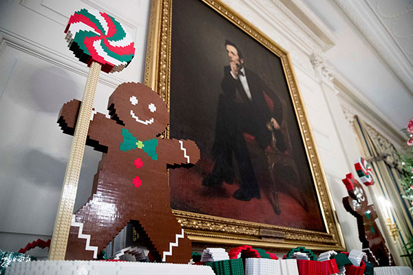 <div class='meta'><div class='origin-logo' data-origin='none'></div><span class='caption-text' data-credit='Andrew Harnik/AP Photo'>The White House is decked out with intricate, elaborate decorations ahead of President Obama's final Christmas in office.</span></div>