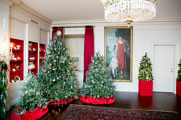 <div class='meta'><div class='origin-logo' data-origin='none'></div><span class='caption-text' data-credit='Andrew Harnik/AP Photo'>The China Room of the White House is decorated during a preview of the 2016 holiday decor, Tuesday, Nov. 29, 2016, in Washington.</span></div>