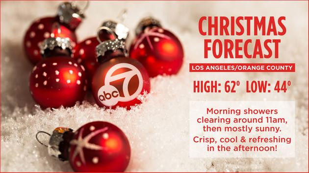 From New York to Los Angeles: See your Christmas holiday forecasts ...