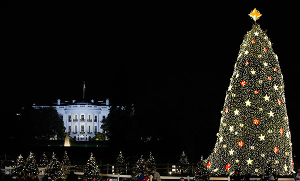 "<div class=""meta image-caption""><div class=""origin-logo origin-image none""><span>none</span></div><span class=""caption-text"">The White House is seen in the background after the lighting of the National Christmas Tree, Thursday, Dec. 3, 2009, in Washington. (Haraz N. Ghanbari/AP Photo)</span></div>"