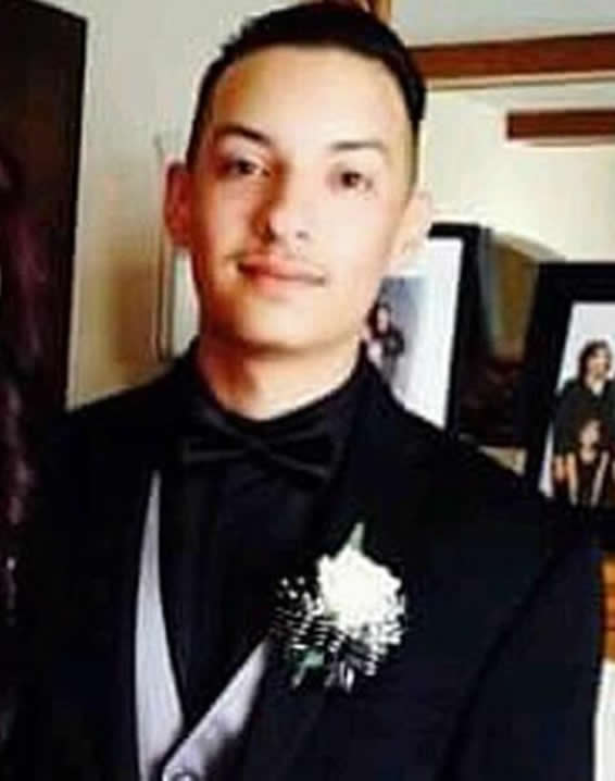 <div class='meta'><div class='origin-logo' data-origin='none'></div><span class='caption-text' data-credit='Facebook Photo'>Alex Vega, 22, from San Bruno, Calf. was a victim of the Oakland fire. His girlfriend, Michela Gregory, also died in the fire.</span></div>