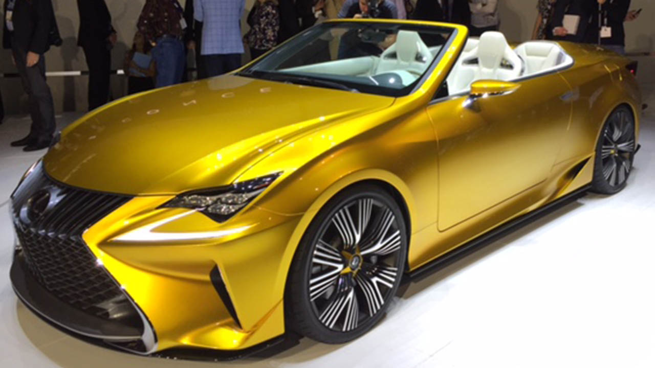 PHOTOS: Newest Lexus Car Rebrands Company For Next Generation