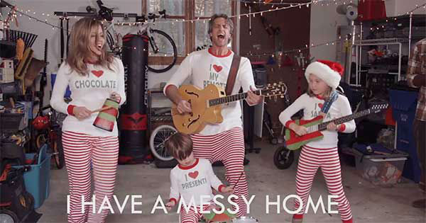 Viral Holderness family release 2014 Christmas jammies video ...