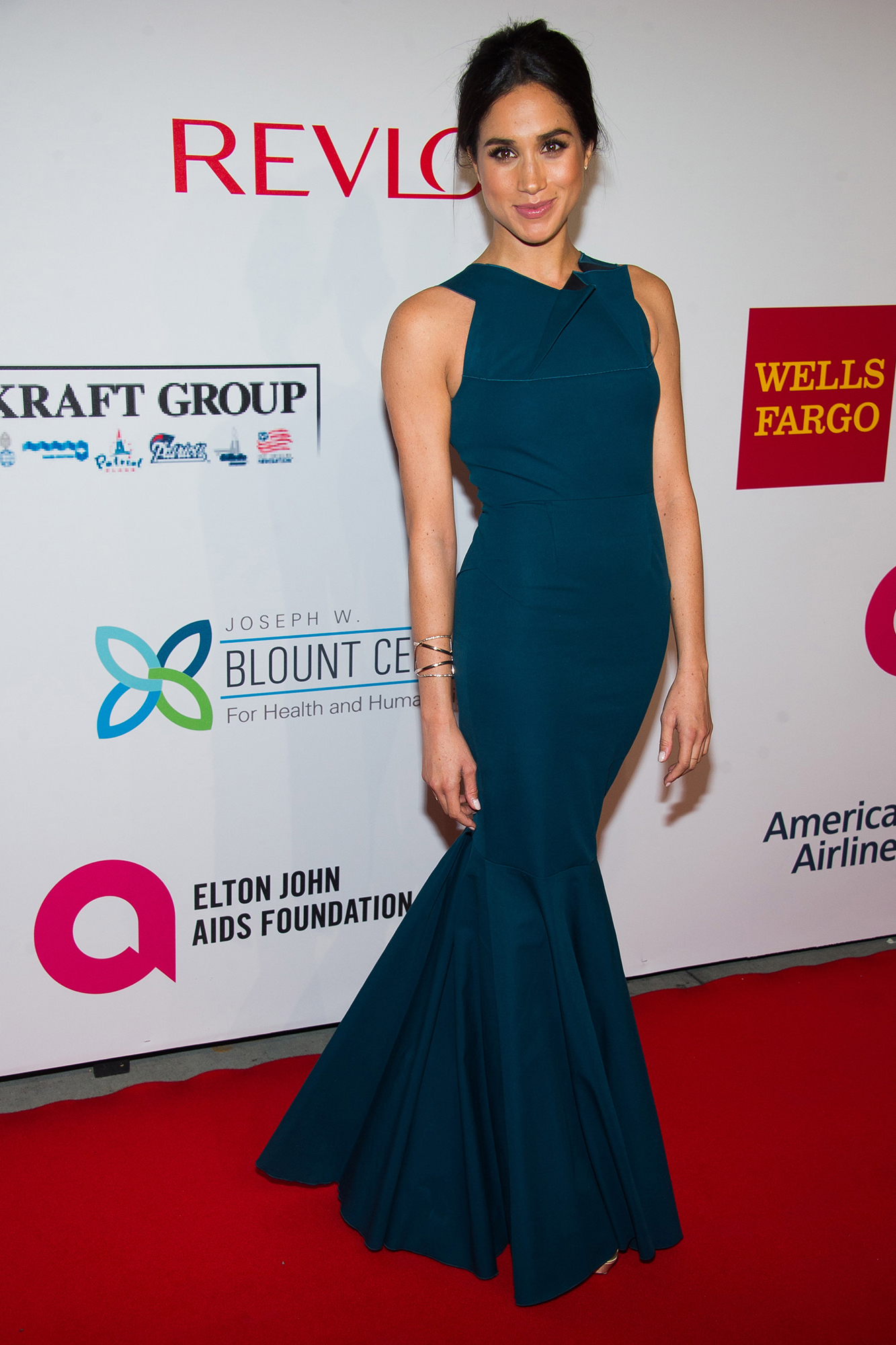 <div class='meta'><div class='origin-logo' data-origin='AP'></div><span class='caption-text' data-credit='Charles Sykes/Invision/AP'>Meghan Markle attends the Elton John AIDS Foundation's 13th Annual &#34;An Enduring Vision&#34; benefit at Cipriani's Wall Street on Tuesday, Oct. 28, 2014, in New York.</span></div>