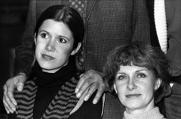 <div class='meta'><div class='origin-logo' data-origin='none'></div><span class='caption-text' data-credit='AP Photo'>Joanne Woodward (right) and Carrie Fisher, 20, in London on Jan. 13, 1977 during rehearsals for Laurence Olivier's production for Granada TV of 'Come Back, Little Sheba.'</span></div>