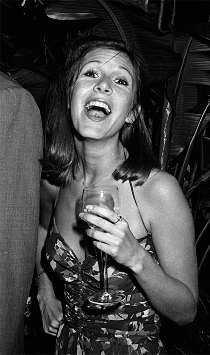 <div class='meta'><div class='origin-logo' data-origin='none'></div><span class='caption-text' data-credit='Ron Galella, Ltd./WireImage/Getty Images'>Carrie Fisher attends Giorgio Armani Fashion Show on September 16, 1980 at the RCA Promenade in New York City.</span></div>