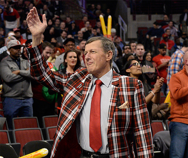 <div class='meta'><div class='origin-logo' data-origin='none'></div><span class='caption-text' data-credit='David Banks/AP'>Craig Sager, the longtime sports reporter, passed away on Thursday, Dec. 15 after battling acute myeloid leukemia. He was 65.</span></div>