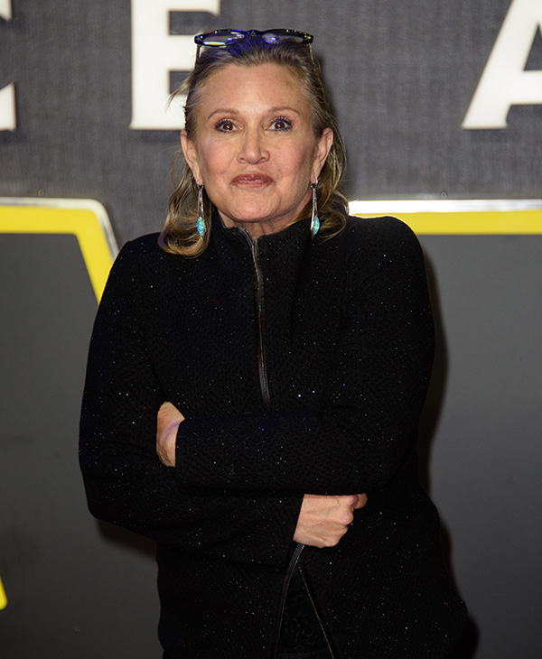 <div class='meta'><div class='origin-logo' data-origin='AP'></div><span class='caption-text' data-credit='Jonathan Short/Invision/AP'>Carrie Fisher, best known for her role as Princess Leia in the Star Wars series, died Dec. 27, 2016 at the age of 60.</span></div>