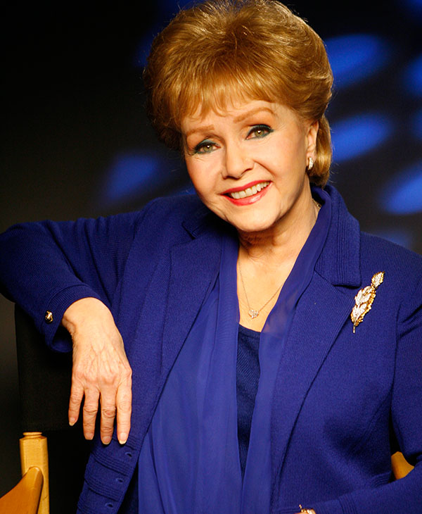 "<div class=""meta image-caption""><div class=""origin-logo origin-image ap""><span>AP</span></div><span class=""caption-text"">Actress Debbie Reynolds poses for a photo on the Warner Bros. lot in Burbank, Calif. on Monday, March 9, 2009. (AP Photo/Damian Dovarganes)</span></div>"