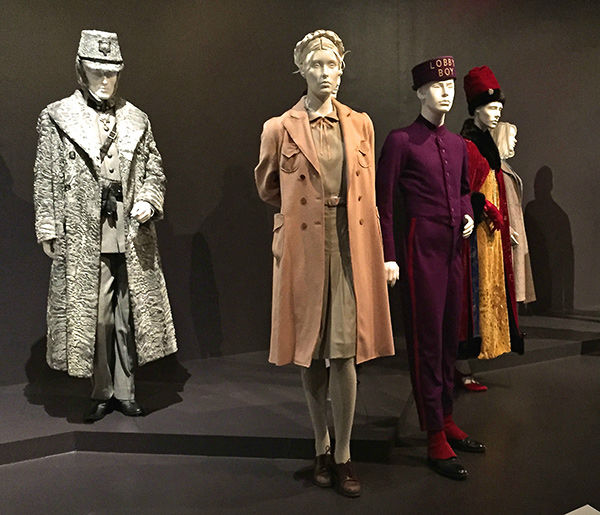 "<div class=""meta image-caption""><div class=""origin-logo origin-image none""><span>none</span></div><span class=""caption-text"">Oscar-nominated costumes designs from the film 'The Grand Budapest Hotel' on display at the FIDM Museum in downtown Los Angeles. (KABC Photo)</span></div>"