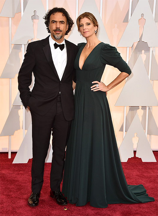 "<div class=""meta image-caption""><div class=""origin-logo origin-image none""><span>none</span></div><span class=""caption-text"">Alejandro Gonzalez Inarritu, left, and Maria Eladia Hagerman arrive. (AP Photo)</span></div>"