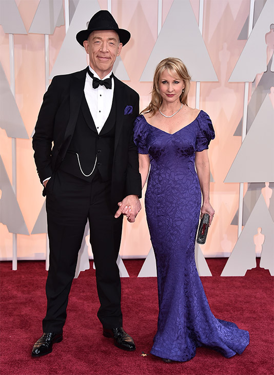"<div class=""meta image-caption""><div class=""origin-logo origin-image none""><span>none</span></div><span class=""caption-text"">J.K. Simmons, left, and Michelle Schumacher arrive. (AP Photo)</span></div>"